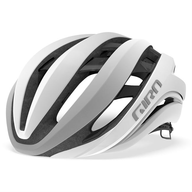 Giro Aether MIPS cykelhjelm - White/Silver - 51-55 cm.