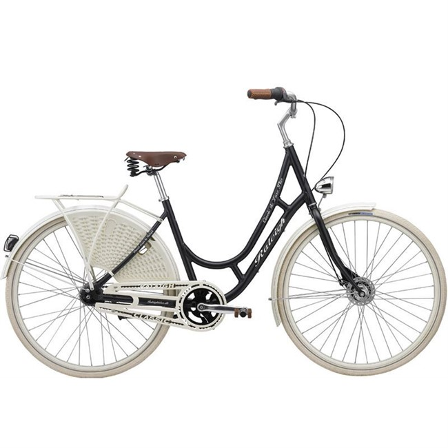 Raleigh Classic De Luxe Plus damecykel - Mat Grey.
