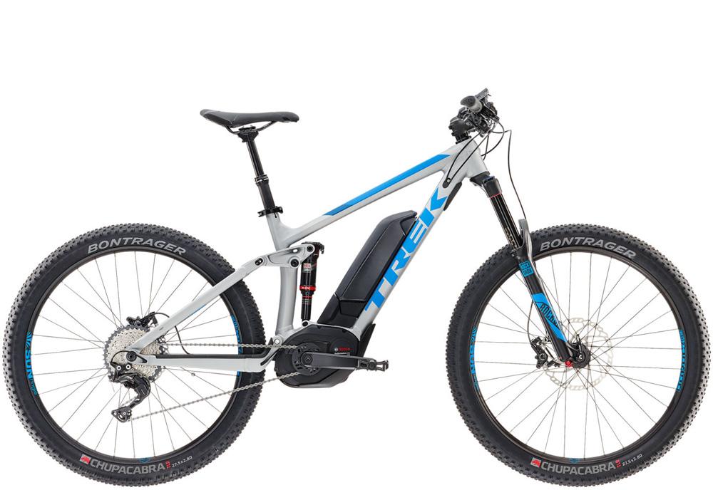 Mountainbike elcykel - Trek, Giant og Superior MTB.