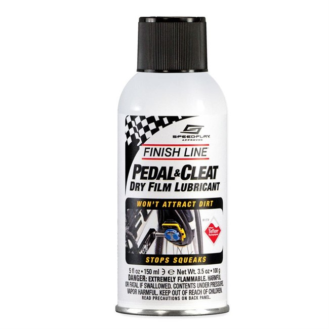 Finish Line Cleat Lube.