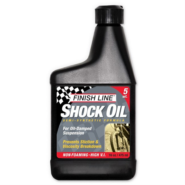 Finish Line Shock Oil forgaffelolie - 10 WT.