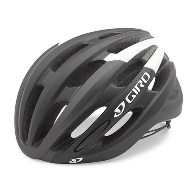 Giro Foray - Black/White 55-59 cm.