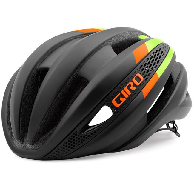 Giro Synthe - Black/Lime/Flame - 59-63 cm.