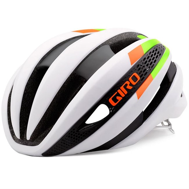 Giro Synthe - White/Lime/Flame - 51-55 cm.