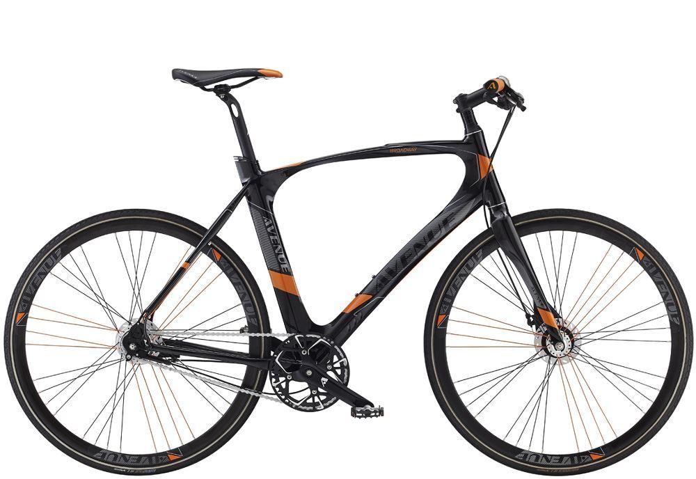 Streetbike - Let og hurtig cykel med indvendige gear.