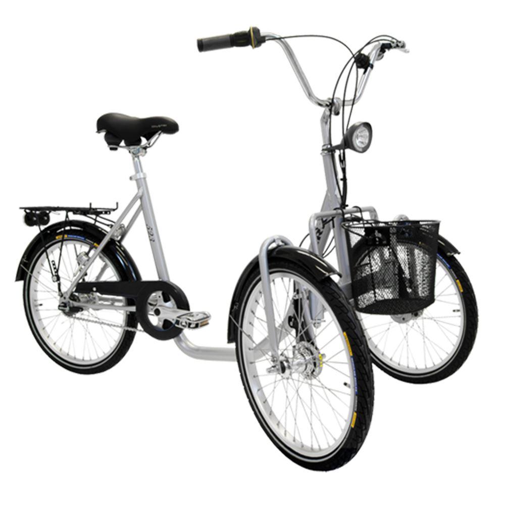 elcykel med 3 hjul
