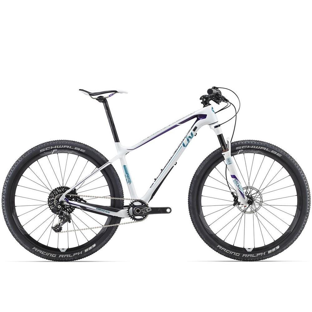 Giant Obsess Advanced 1 carbon dame mountainbike.